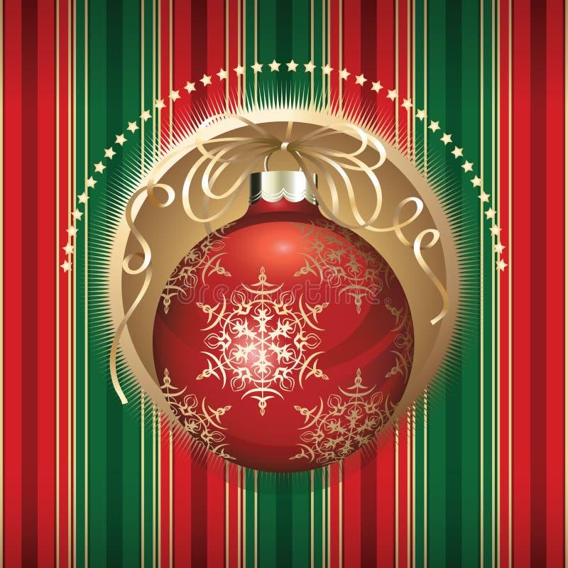 Download Esferas do Natal ilustração do vetor. Ilustração de christmas - 16872707