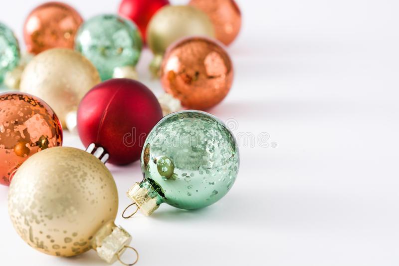 Esferas do Natal fotografia de stock