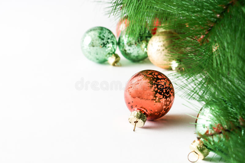 Esferas do Natal imagem de stock royalty free