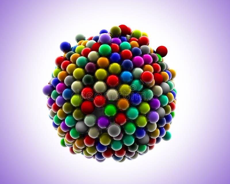 Esferas do partido ilustração stock