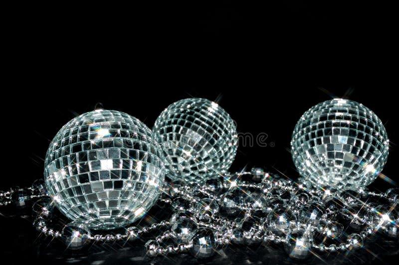Esferas Sparkling foto de stock royalty free