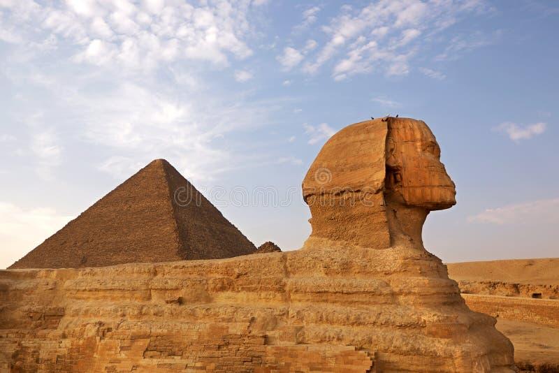 Esfinge De Giza Fotos de archivo libres de regalías
