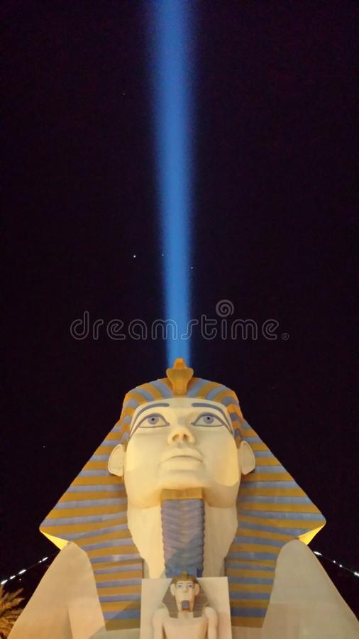 A esfinge de Luxor foto de stock