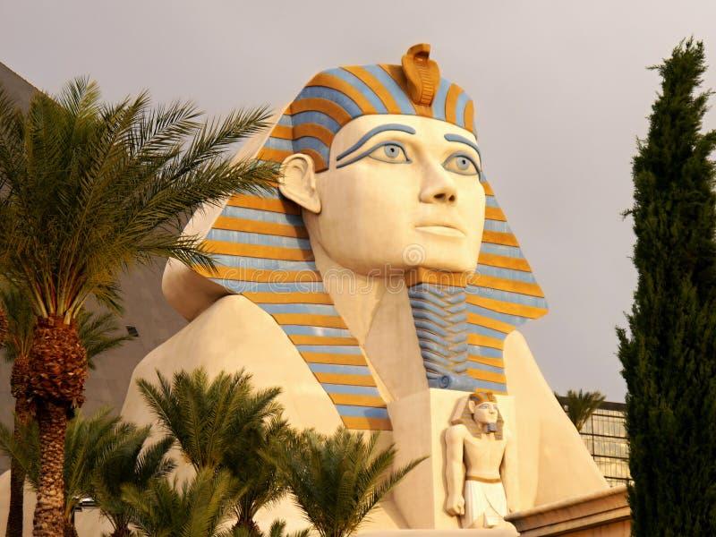Esfinge en el hotel Las Vegas de Luxor imagen de archivo