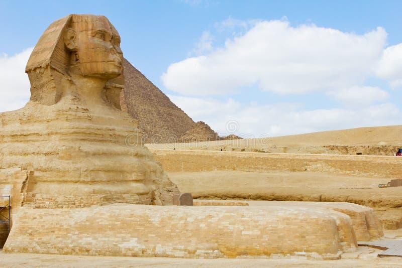 Esfinge en Giza fotos de archivo libres de regalías