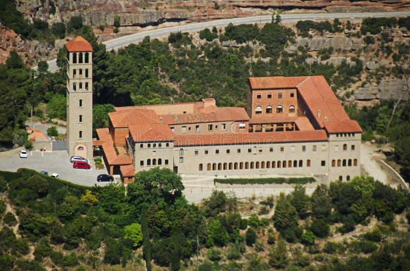 Església de Sant Benet de Montserrat (Marganell) imagens de stock royalty free