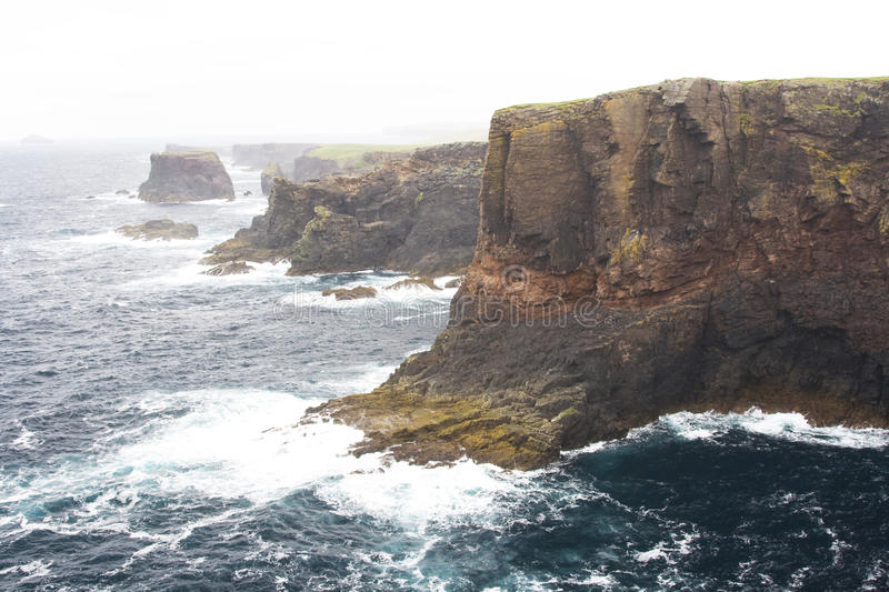 Download Eshaness Cliffs, Shetlands Royalty Free Stock Photography - Image: 20502217
