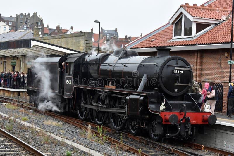 Esk-Tal-Eisenbahn lizenzfreie stockfotos