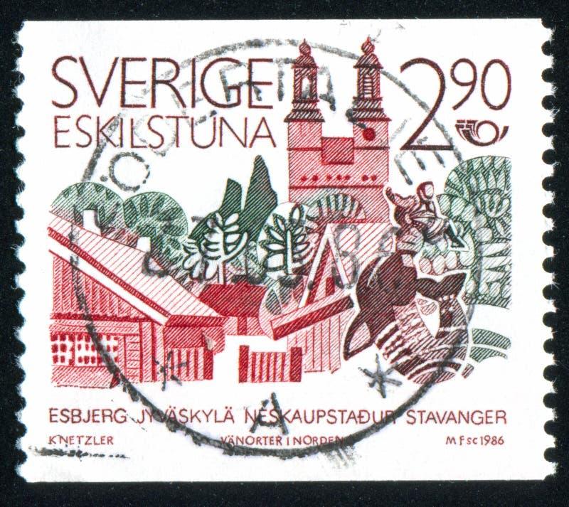Eskilstuna royalty-vrije stock foto