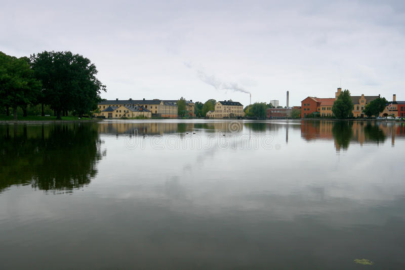 Eskilstuna, Zweden. stock foto