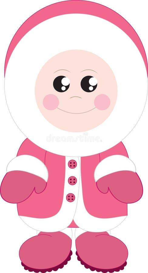 Free Eskimo Girl Stock Photo - 23449710