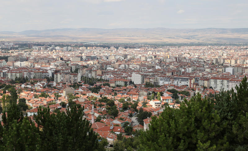 Eskisehir City in Turkey stock image