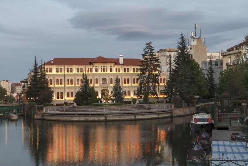 Eskisehir / Turkey. EskiÅŸehir settled around the Porsuk river,Turkey`s most beautiful cities royalty free stock photography