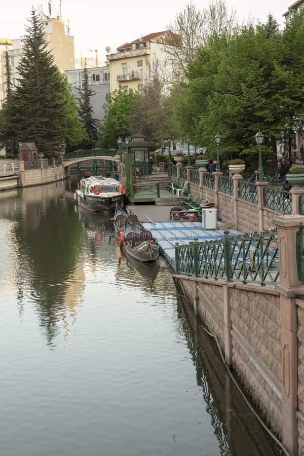 Eskisehir / Turkey. EskiÅŸehir settled around the Porsuk river,Turkey`s most beautiful cities royalty free stock photo