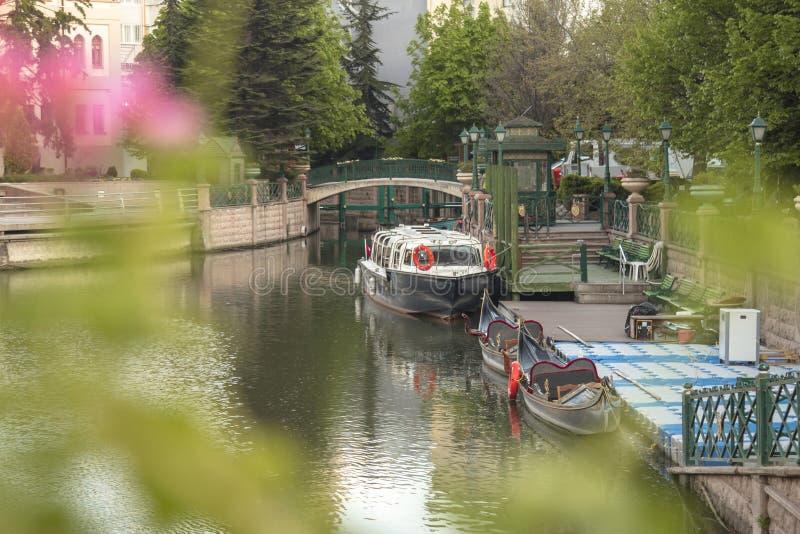 Eskisehir / Turkey. EskiÅŸehir settled around the Porsuk river,Turkey`s most beautiful cities stock photo