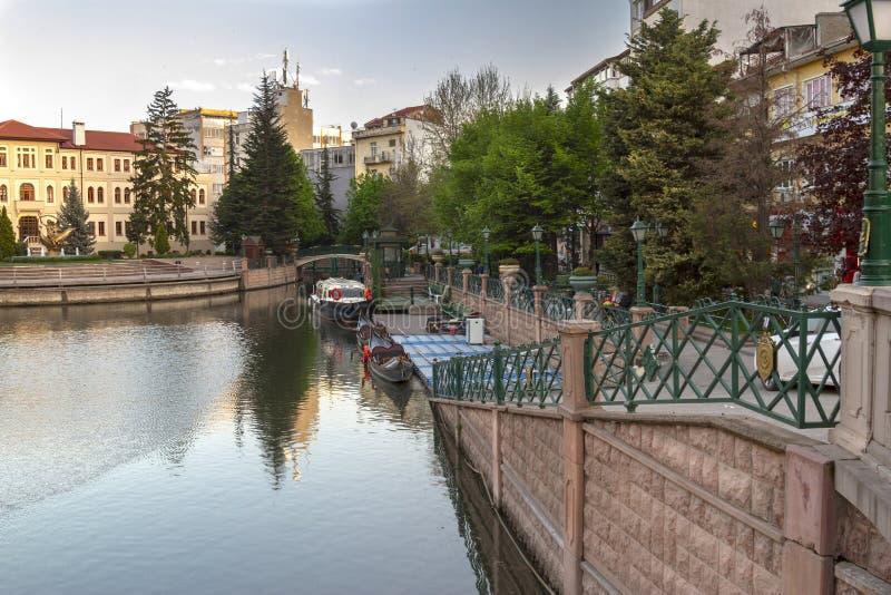 Eskisehir / Turkey. EskiÅŸehir settled around the Porsuk river,Turkey`s most beautiful cities stock photos