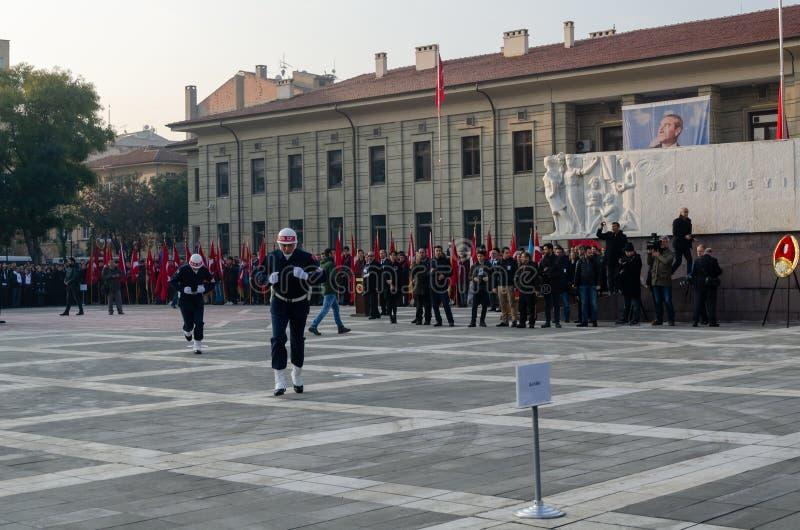 Eskisehir, 10,2017 Turkije-November: De Grote Leider Atatà ¼ rk ` s stock foto