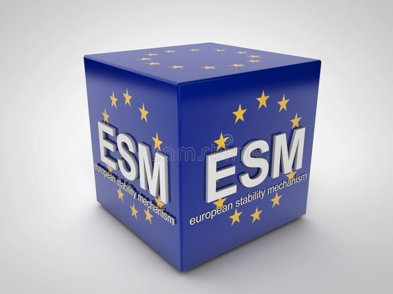 ESM illustrazione vettoriale