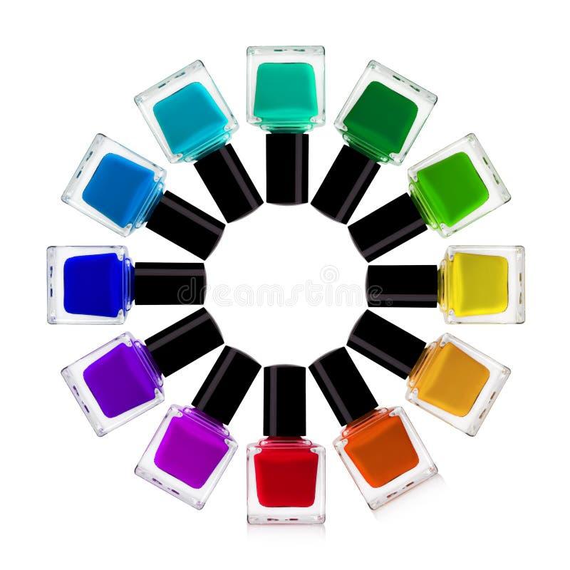 Esmalte de uñas imágenes de archivo libres de regalías