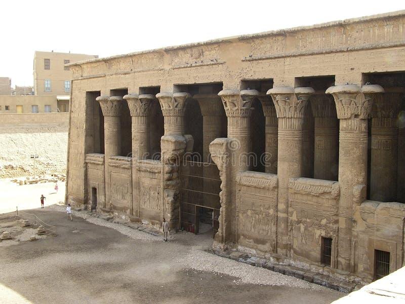 Esna Tempel Lizenzfreie Stockbilder