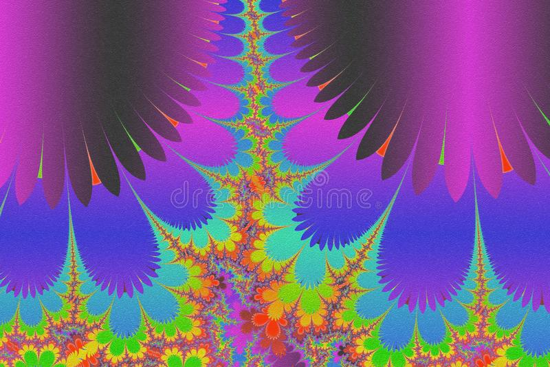 Esoteric- art painting  arcane royalty free illustration