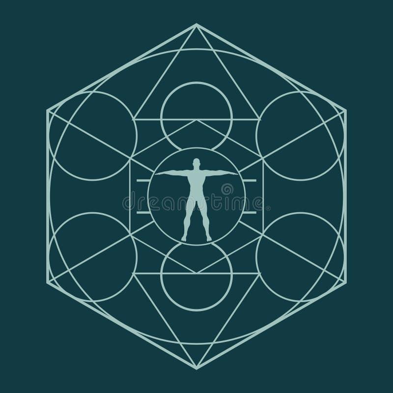 Esoteric Mystical Symbols Stock Vector Illustration Of Masonry