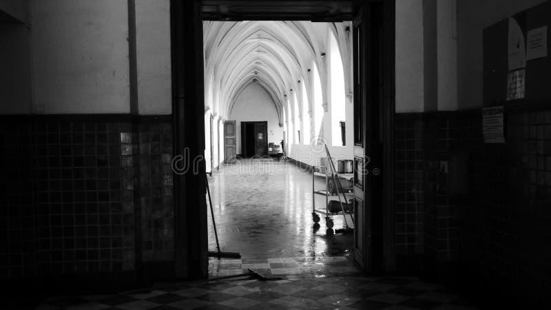 Espérance Abbaye de Bonne, estinnes, Belgien lizenzfreies stockfoto