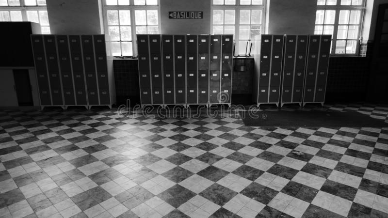Espérance Abbaye de Bonne, estinnes, Belgien lizenzfreie stockfotos