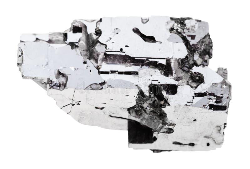 Espécime da pedra do galeno isolado foto de stock
