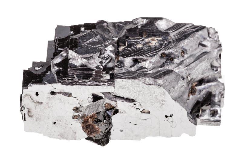 Espécime da rocha do galeno isolado imagem de stock royalty free