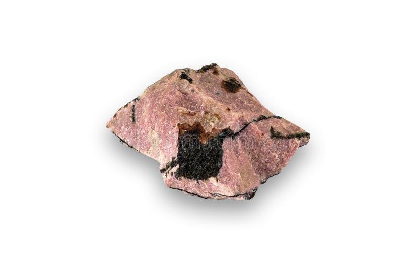 Espécime do rhodonite imagens de stock