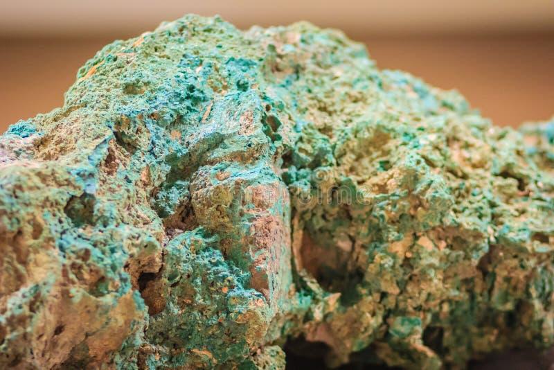 Espécimen crudo de piedra de la malaquita de la explotación minera y del indust de la extracción fotos de archivo libres de regalías