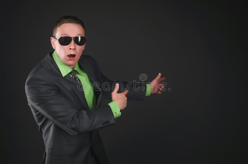 espía bodyguard Agente de servicio secreto foto de archivo