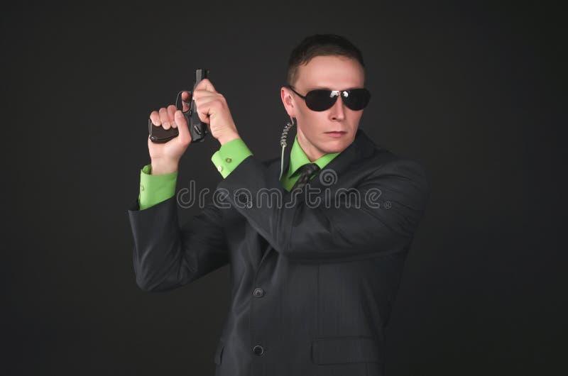 espía bodyguard Agente de servicio secreto fotografía de archivo