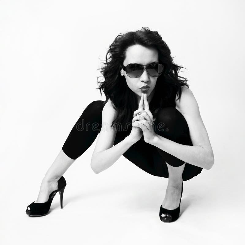 Espía sexual de moda imagenes de archivo