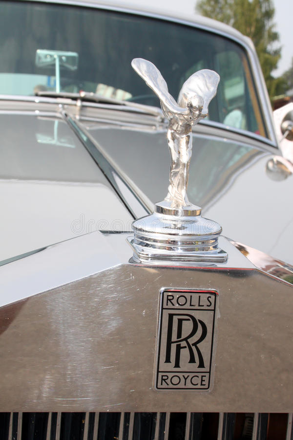 Espírito de rolls royce da êxtase fotografia de stock royalty free