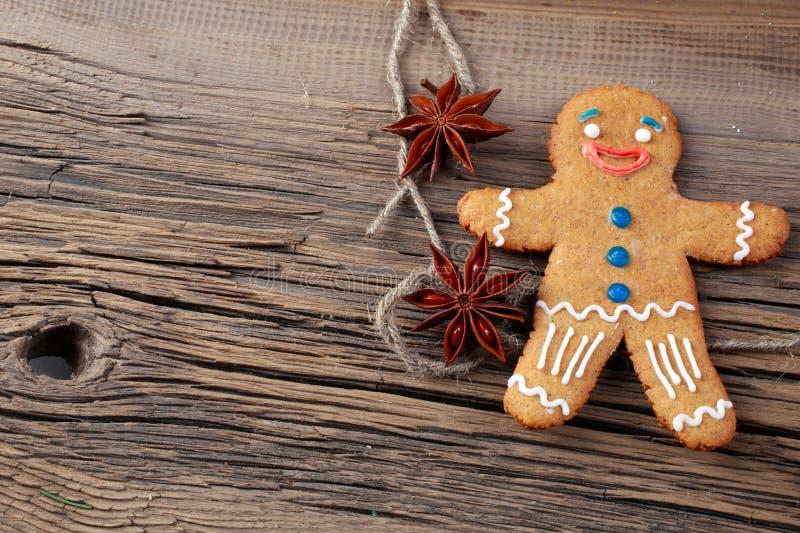 Espírito do Natal? com Santa e Noel imagem de stock