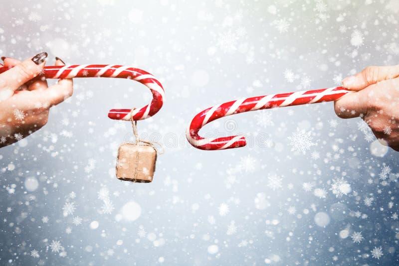 Espírito do Natal e do ano novo Conceito de um feriado e de dias imagens de stock