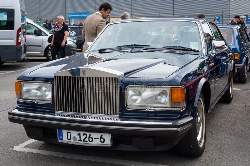 Espírito luxuoso sem redução da prata de Rolls royce do carro foto de stock