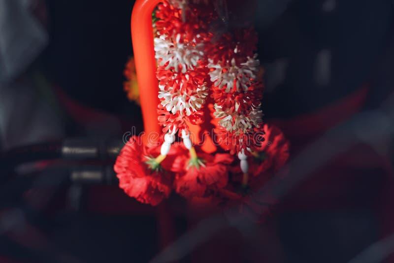 Espírito Santo é a opinião do budismo tailandês foto de stock