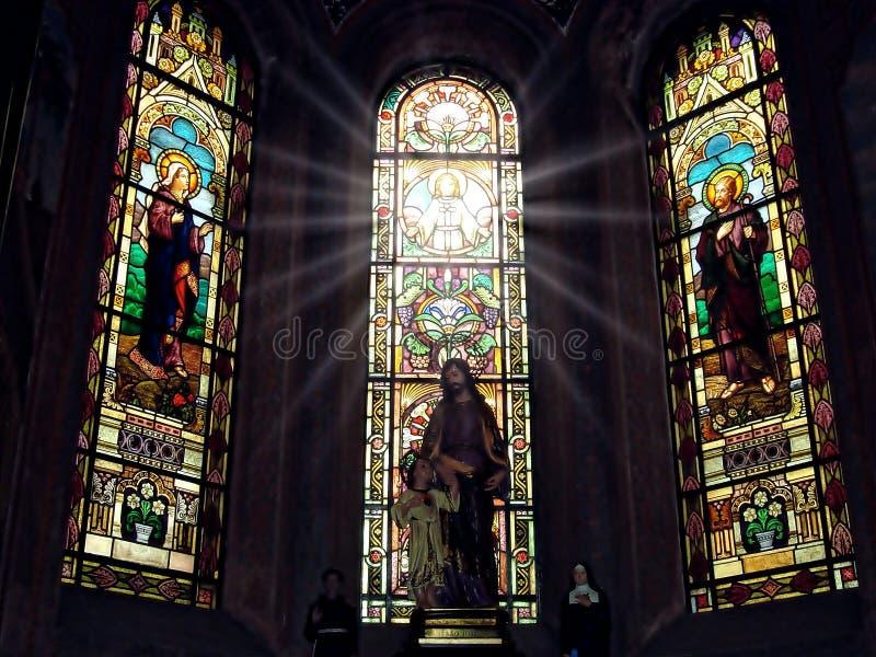 Espírito Santo descido abaixo de nós imagens de stock royalty free