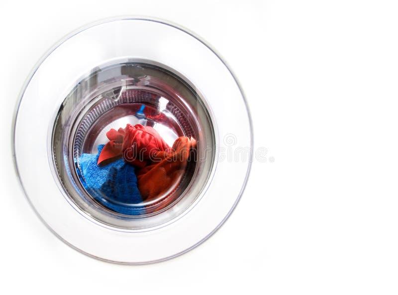 Espaço da cópia da máquina de lavar foto de stock royalty free