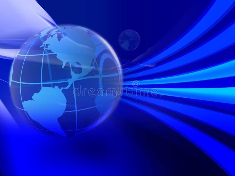 Espaço da tecnologia ilustração do vetor