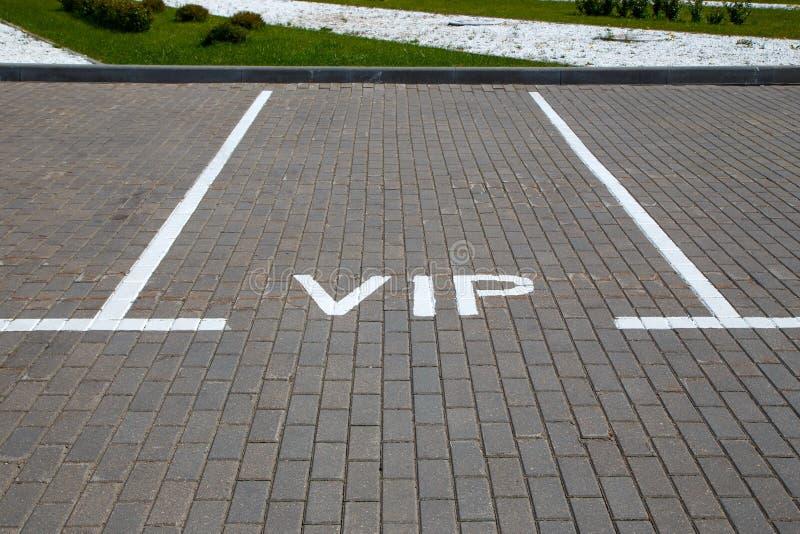 Espaço de estacionamento vazio fotografia de stock
