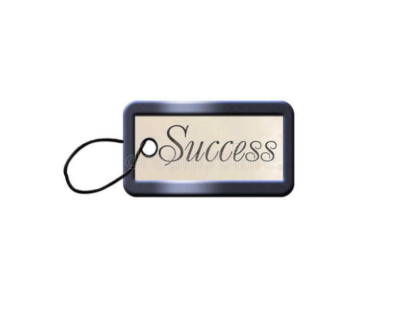 Espaço em branco do sucesso para a chave ilustração stock