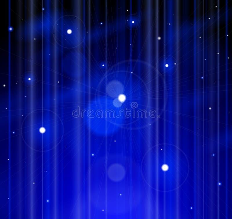 Espaço, estrelas, universo ilustração do vetor