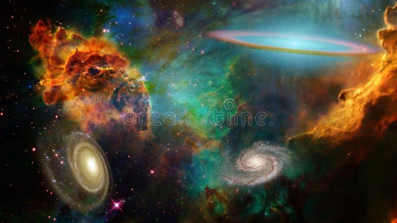 Espaço profundo ilustração stock