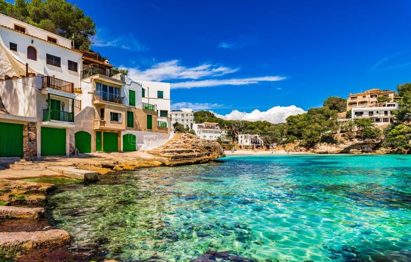España Majorca Cala Santanyi imagenes de archivo