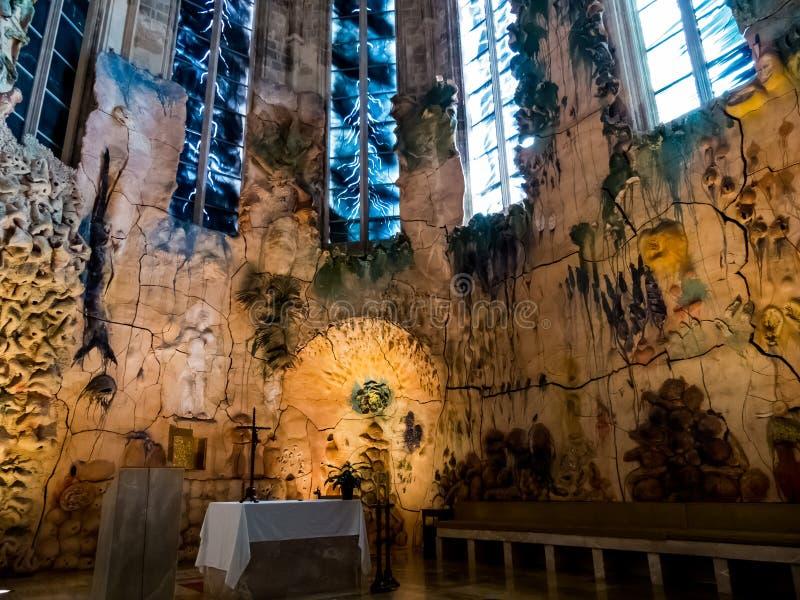 España, Mallorca, palma, catedral fotos de archivo