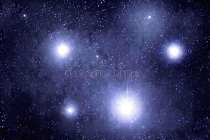 Espace extra-atmosphérique image libre de droits